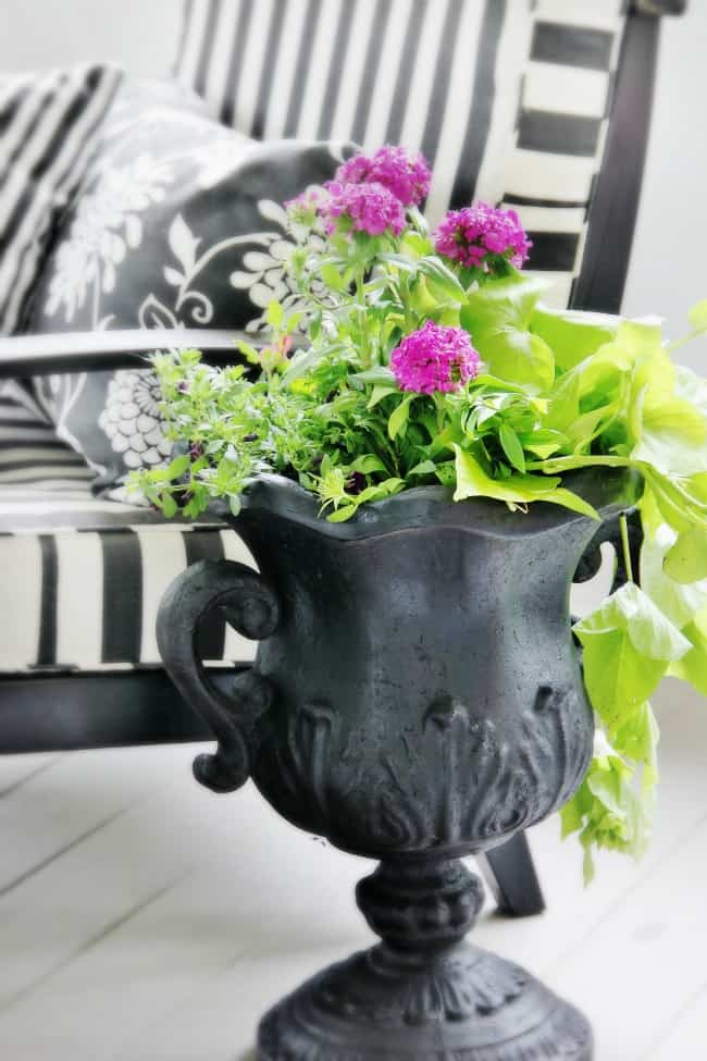 how to create a container garden