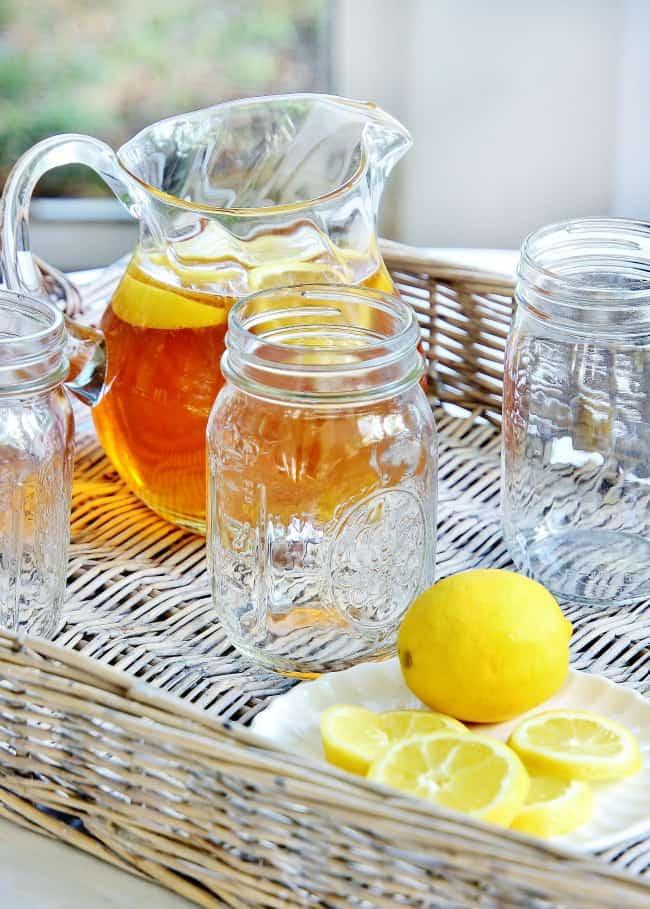 sweet tea back porch