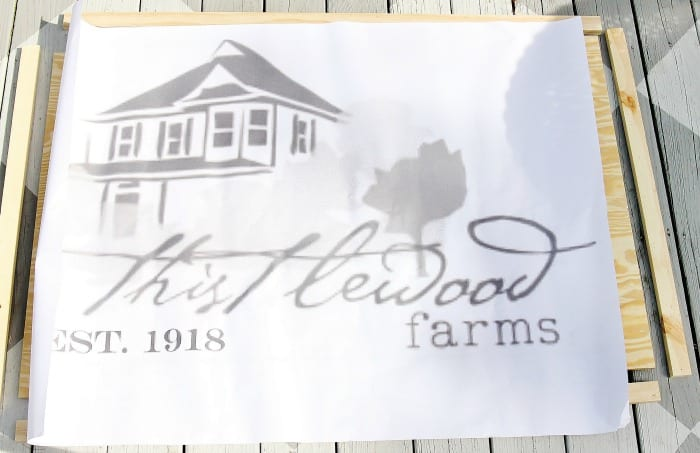 wood sign thistlewood