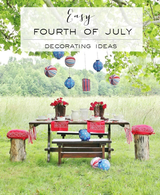 easy fourth of july decorating ideas