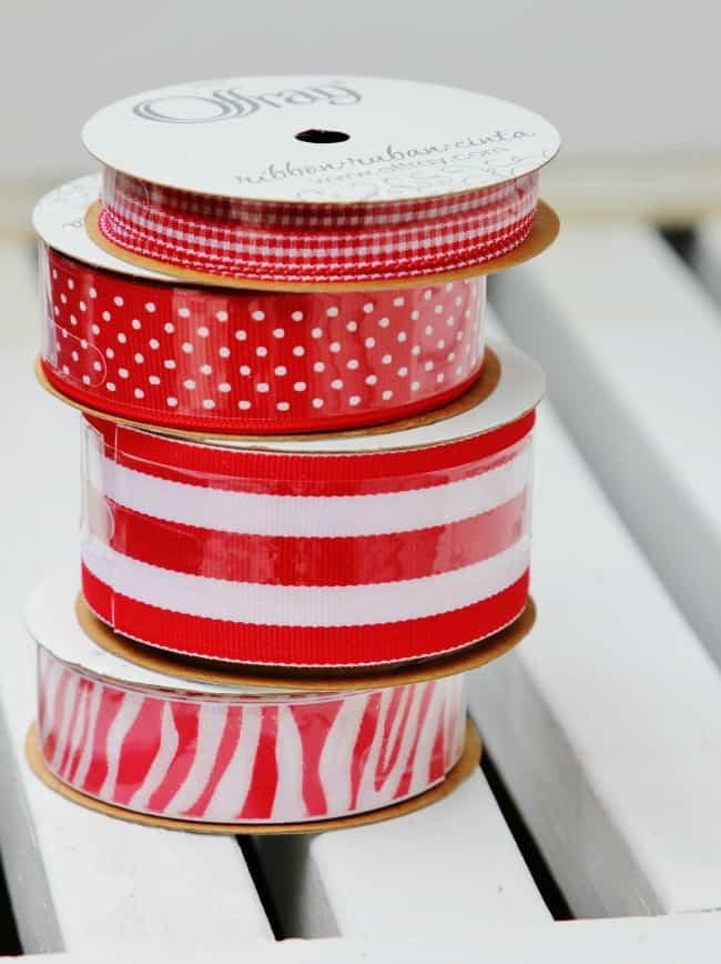 ribbon for burlap table runner