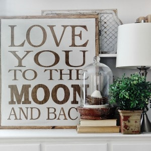 Love You to the Moon and Back - Thistlewood Farm