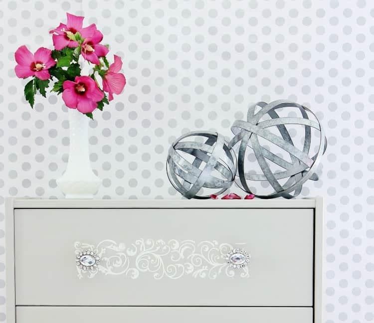 DIY Painted Dresser Project