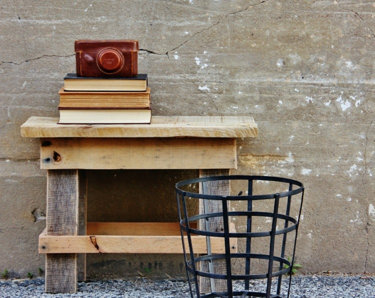 DIY Project How To Reclaimed Wood Stool