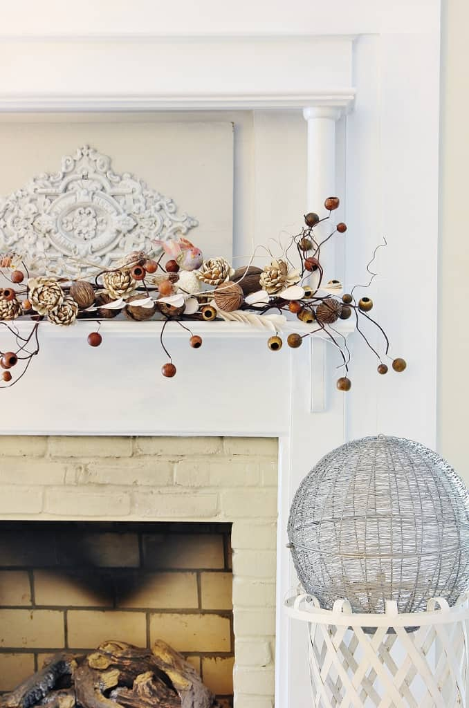 Fall Transitional Mantel