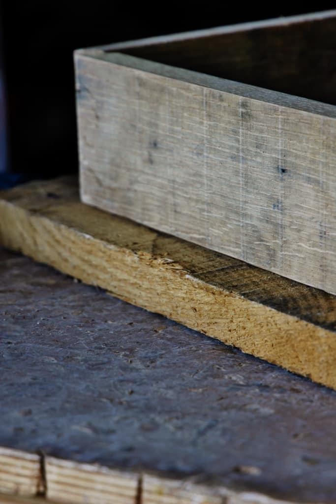 Reclaimed Wood Stool DIY