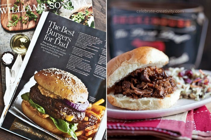 Taking tips from cookbooks and other food photoshoots is an amazing photography tip to help improve your skills