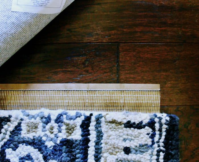 how to combine two rugs