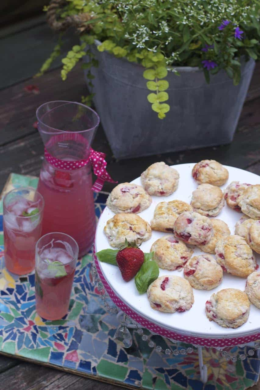strawberry basil biscuit recipe how to