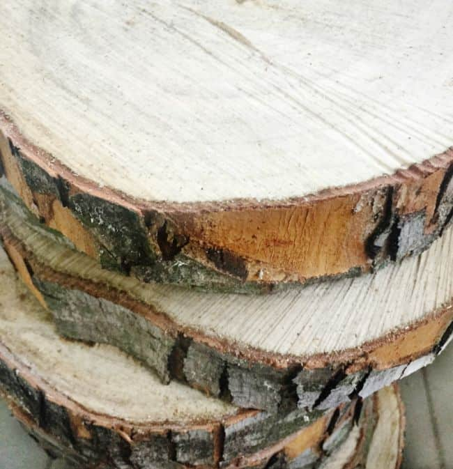 Wood slices make great project starters