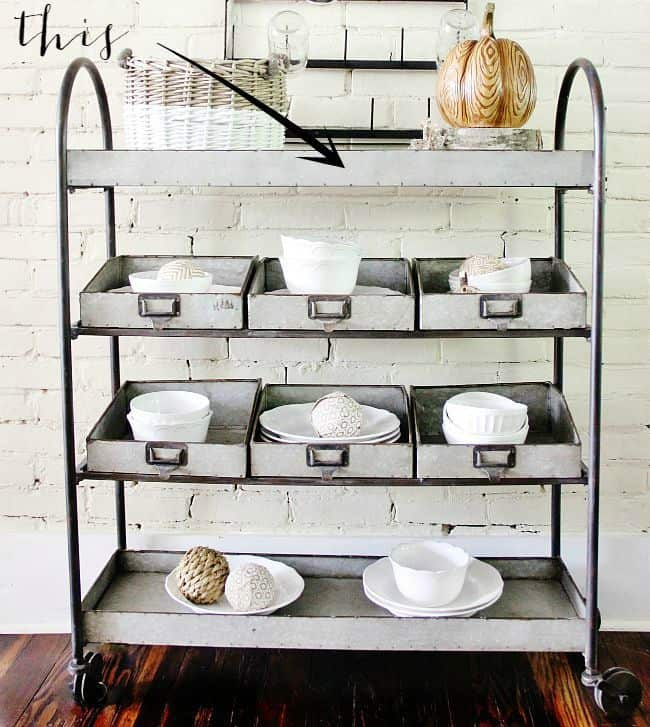 Painted Fox Industrial Shelving Unit