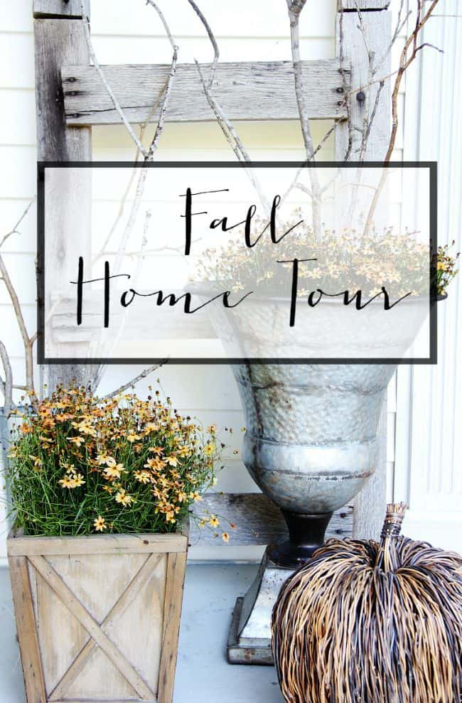 fall home tour thistlewood