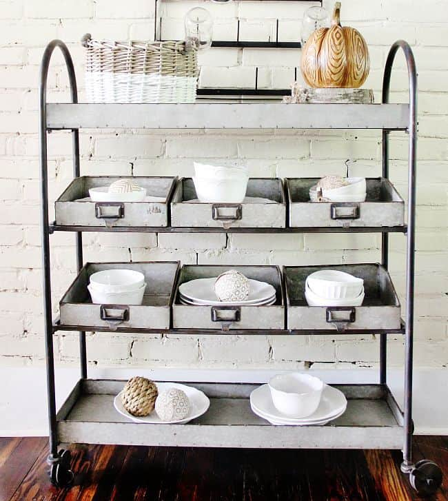 Painted Fox Industrial Shelving
