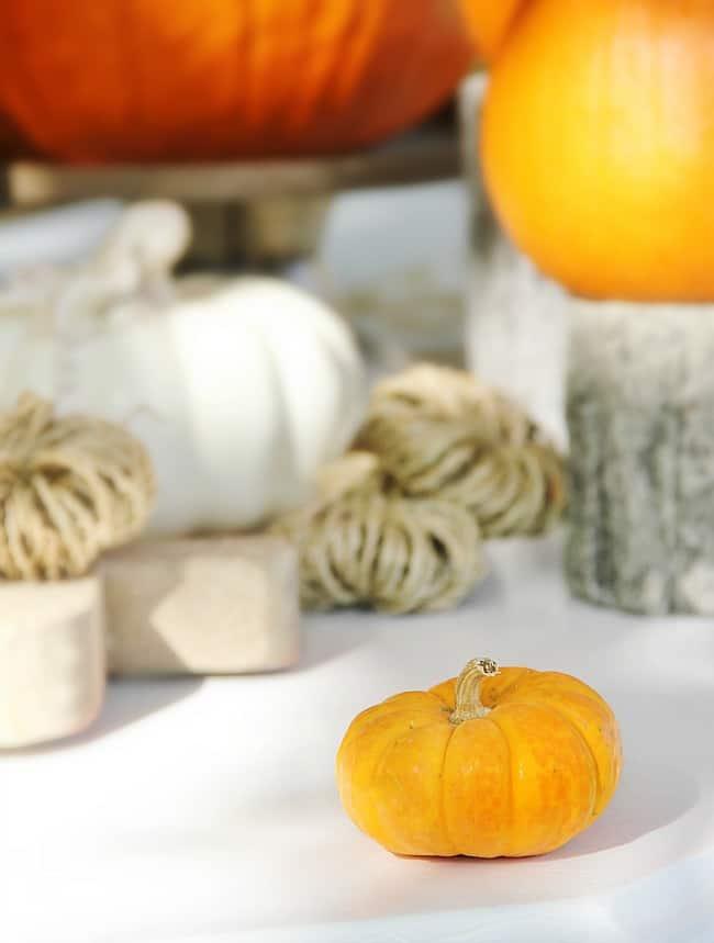 pumpkin decorating for fall decor