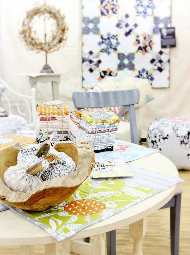 quilt market booth