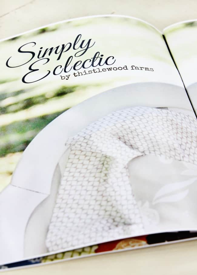 simply eclectic fabric line