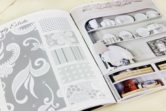 simply eclectic gray page