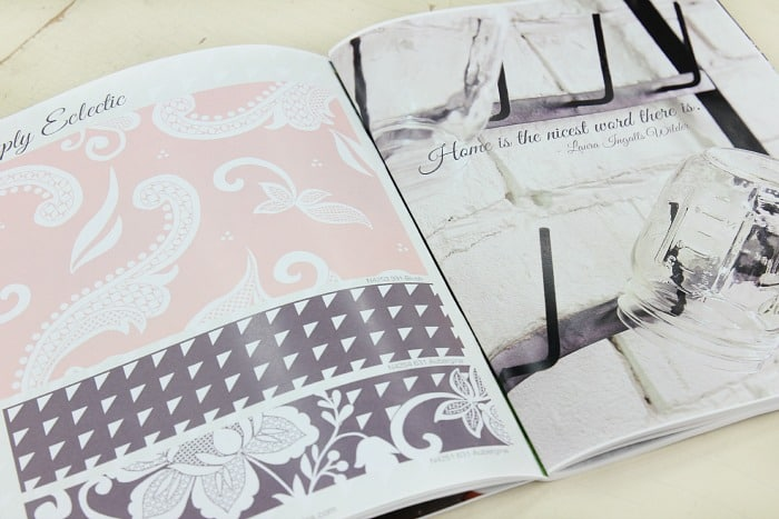 simply eclectic plum page