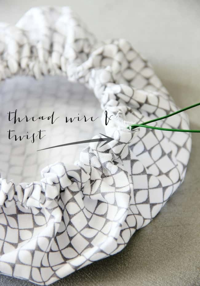 thread wire and twist