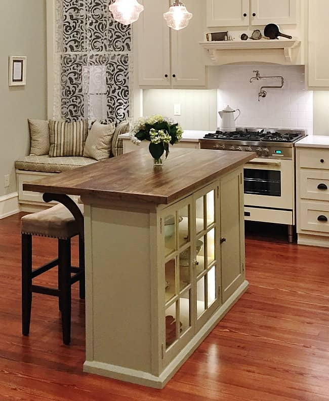 How To Build A Kitchen Island From