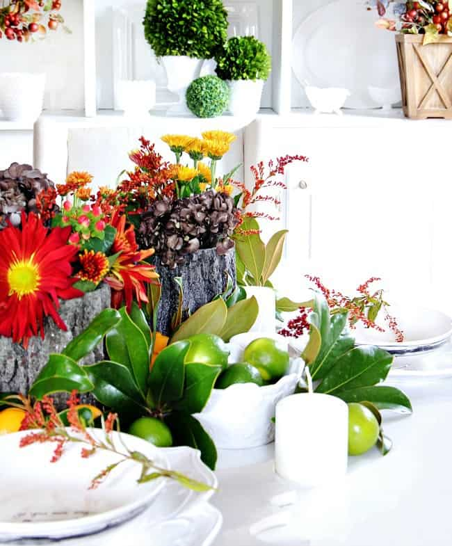 Here are a variety of colorful centerpiece ideas