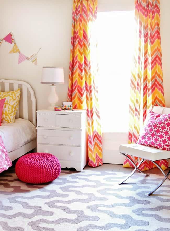 diy shutter wall in room