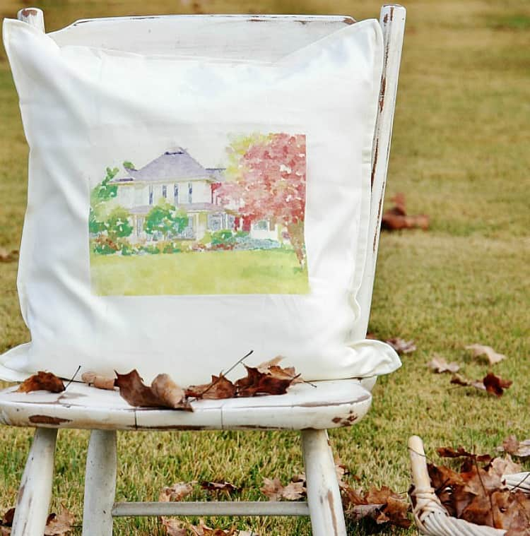 house pillow diy how to