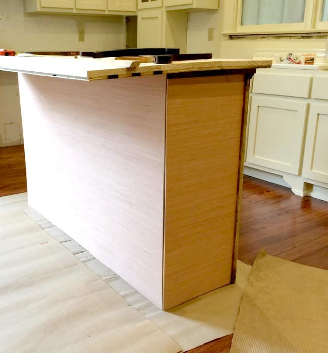 Build A Kitchen Island From Cabinet