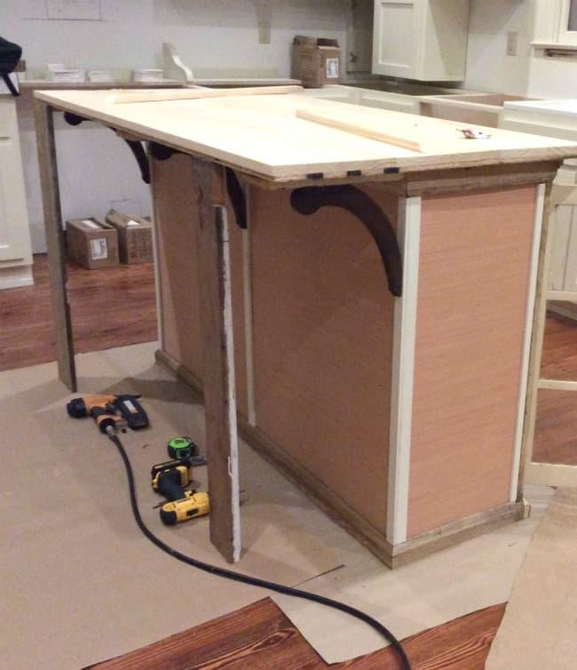 Building Kitchen Island: Alternative Programming Or How To DIY A Kitchen Island