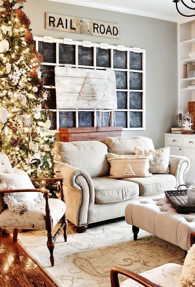 Living Room Christmas
