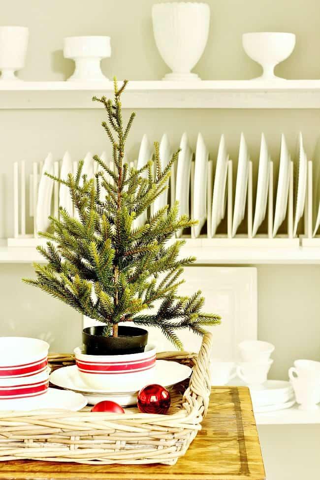 butler's pantry Christmas