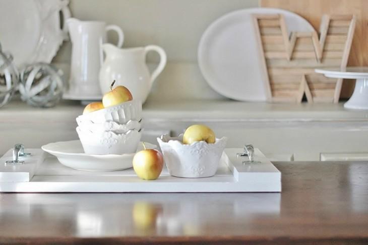 DIY Wood Breakfast Tray
