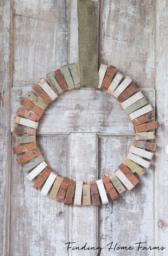 Easy-Scrap-Wood-Wreath