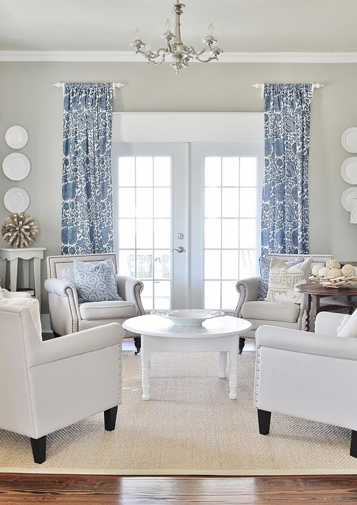 white curtains for living room simple tip to make your windows appear larger 20828