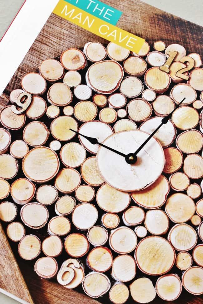 Wood Slice Clock Project
