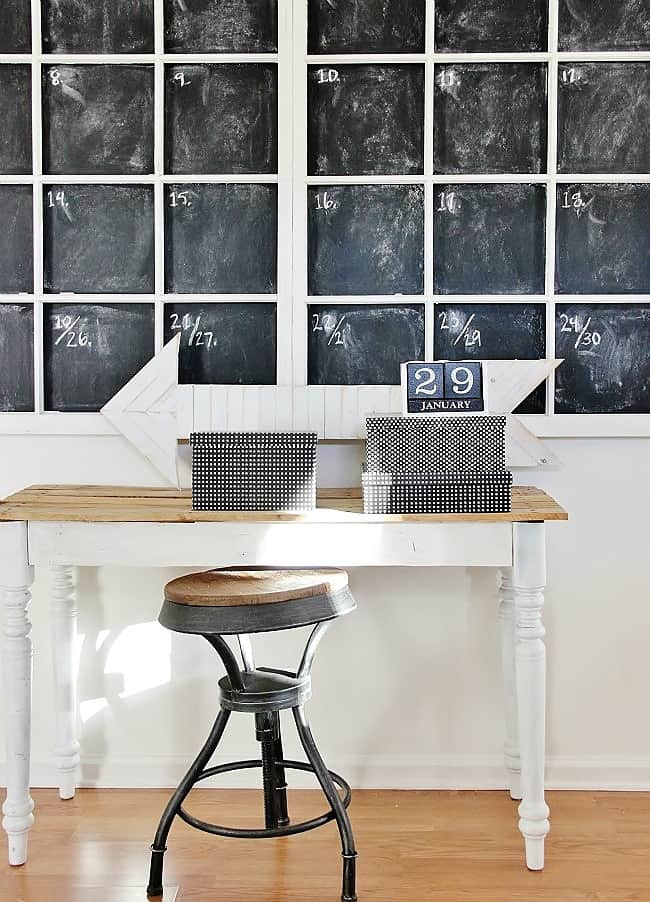 chalkboard farmhouse