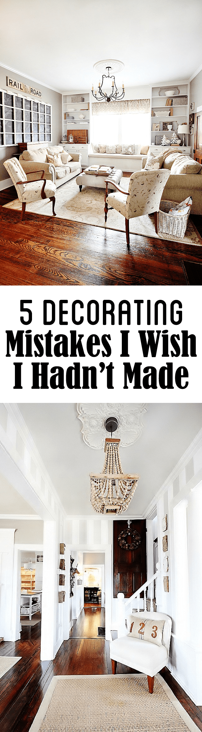 Five Decorating Mistakes I Wish I Hadn 39 T Made