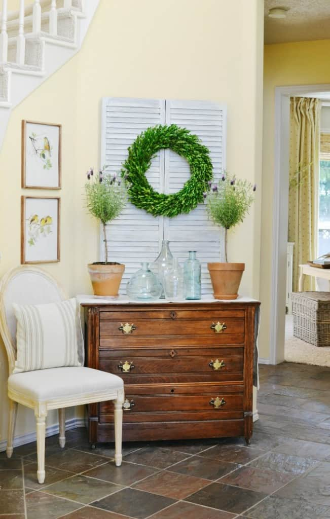 French-country-entry-decor-atthepicketfence.com_-651x1024