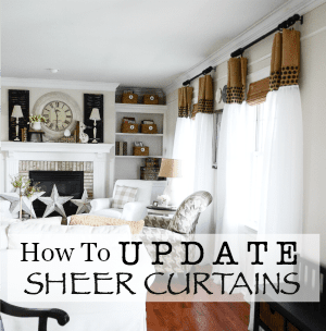 UPDATED SHEER CURTAINS DIY-button-stonegableblog.com