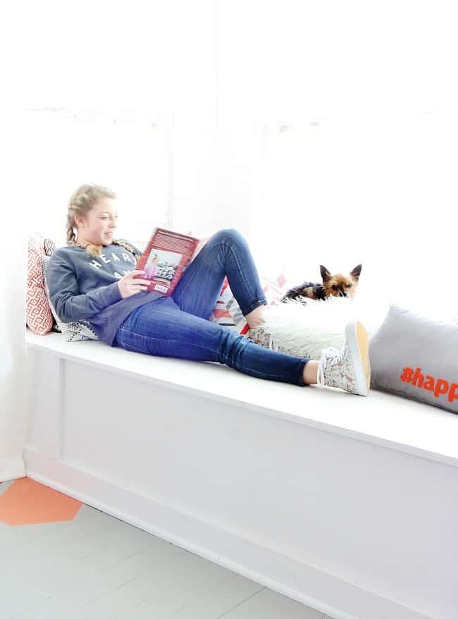 Window seat reading