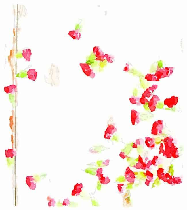 flower printable four