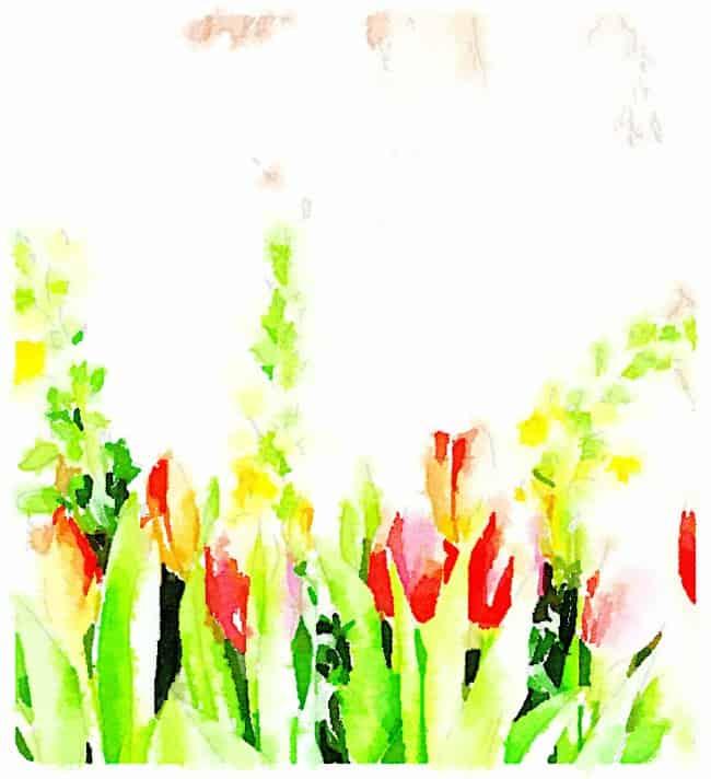 flower printable two