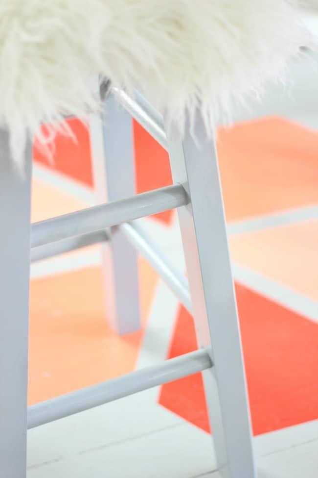 fuzzy stool