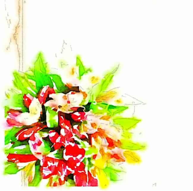 watercolor flower printable one