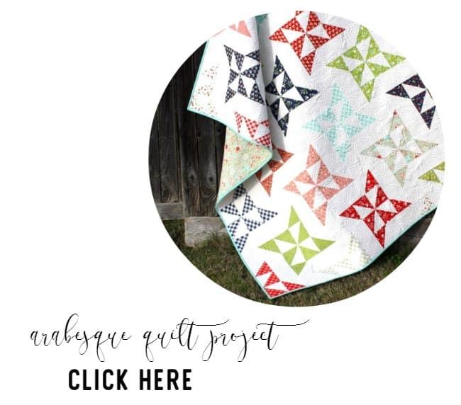 arabesque quilt project