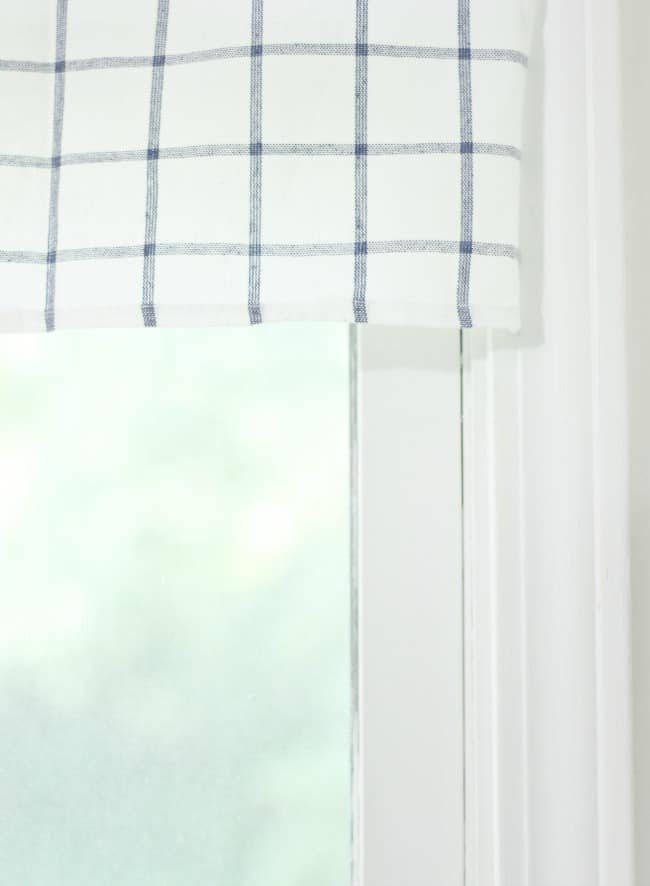 tea towel curtain