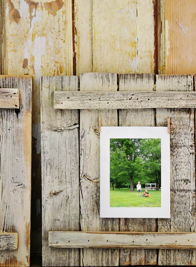 Here's how to make a wood picture frame