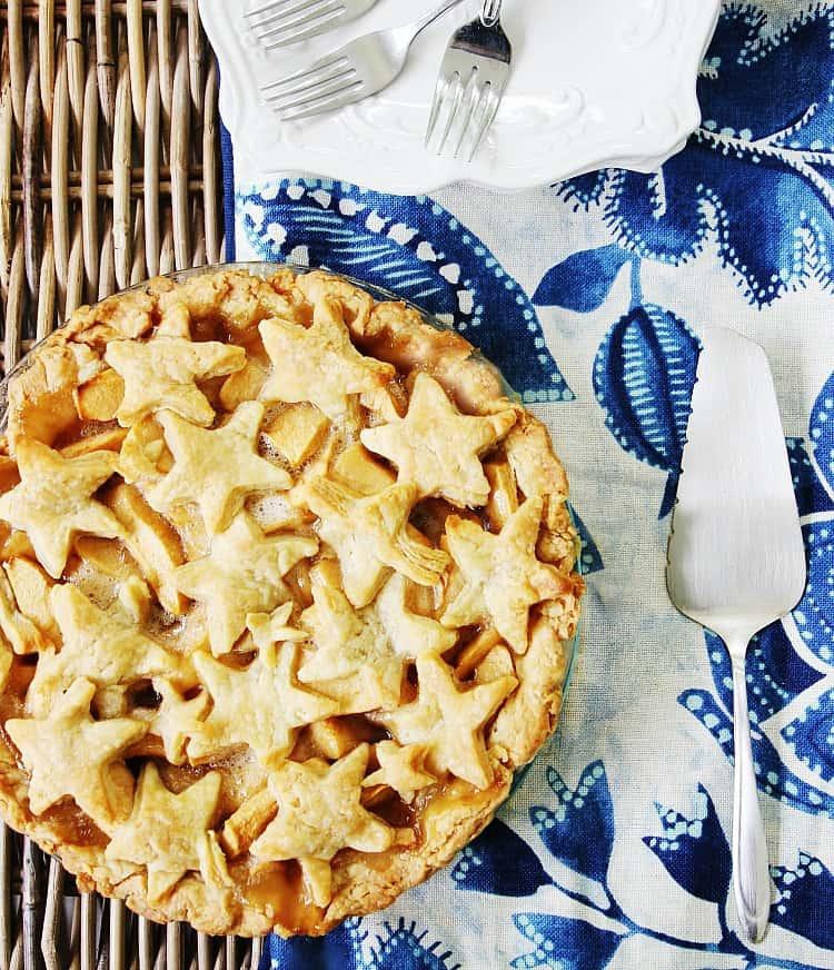 Fourth of July Apple Pie Recipe