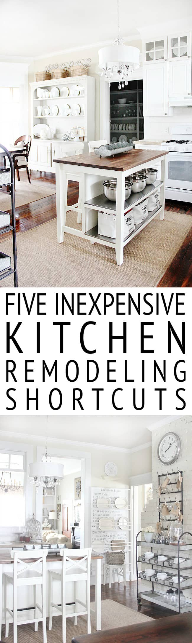 Five Inexpensive Kitchen Remodeling Shortcuts - Thistlewood Farm