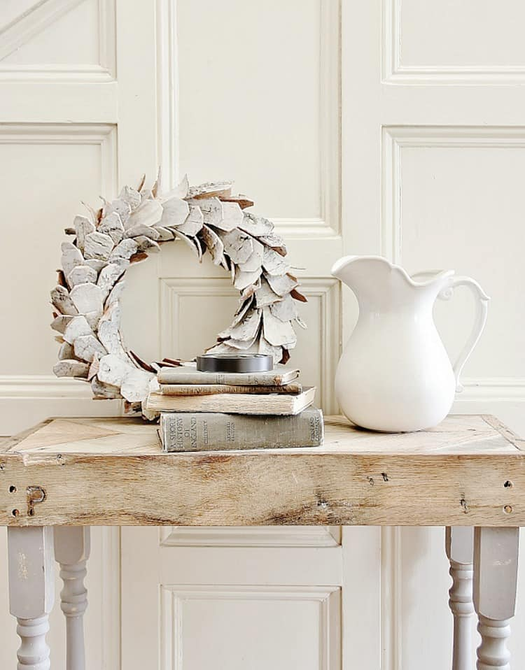 creative wall art ideas wreath